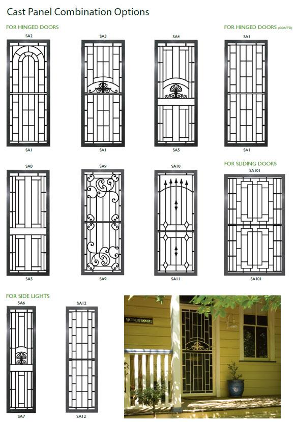 Decorative Cast Panel Doors Rockingham Mandurah